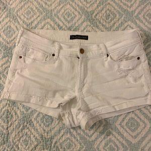 Abercrombie & Fitch mini jean shorts